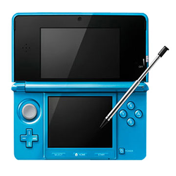 Nintendo 任天堂 3DS 晴空藍 中文版(福利品出清)
