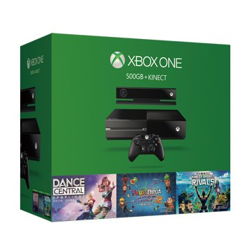XBOX ONE 500G + Kinect 歡樂組