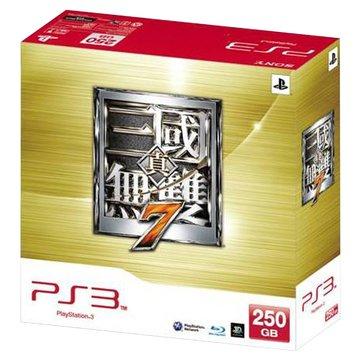 PS3 主機250G(黑)真三國無雙7同捆組(福利品出清)