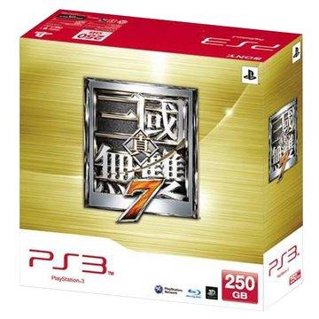 PS3 主機250G(白)真三國無雙7同捆組(福利品出清)