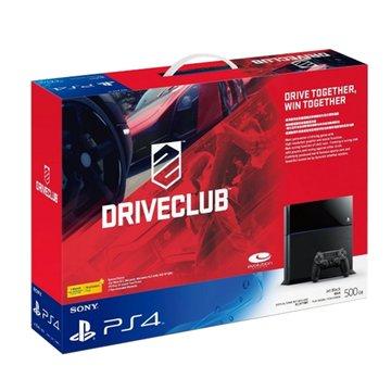 PS4 主機(500G黑) 駕駛俱樂部同捆組(福利品出清)