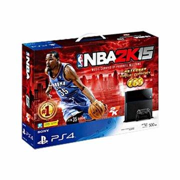 PS4 主機(500G黑) NBA 2K15同梱組(福利品出清)