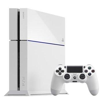 PS4 主機(500G冰河白)新版俠盜列車手5 同捆組(福利品出清)