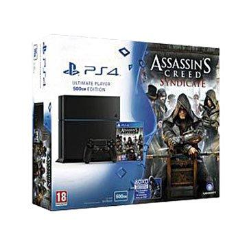 PS4 主機(500G黑)刺客教條:梟雄主機同捆組(福利品出清)