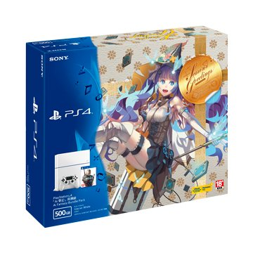 PS4 主機(500G冰河白)Ai奇幻同捆組 (福利品出清)