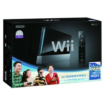 WII主機黑+Resort+Remote Plus遙控器(福利品出清)
