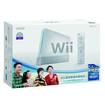 WII主機白+Resort+Remote Plus遙控器(福利品出清)