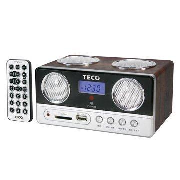 TECO 東元 東元XYFSP002 USB/SD/MP3/FM隨身音響