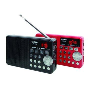 U-MUN  黑/MS-K10音樂多媒體收音機