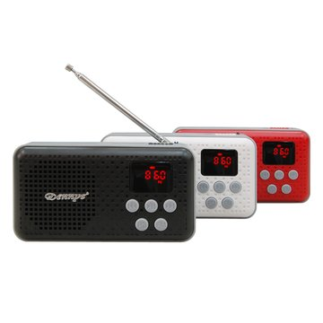 紅/MS-K17 USB隨身喇叭(福利品出清)