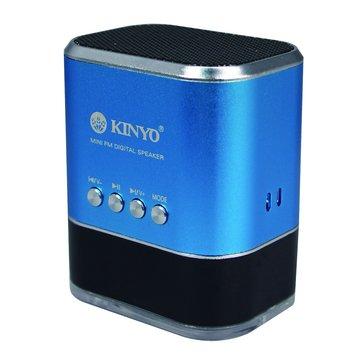 藍/MPS-377 USB插卡式喇叭