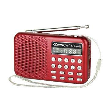 Dennys 鼎鋒 MS-K065 紅 精巧可錄式隨身聽