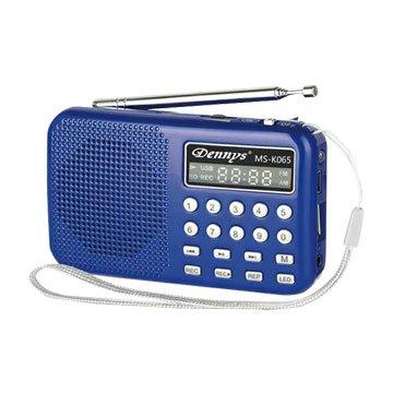 MS-K065 藍 精巧可錄式隨身聽