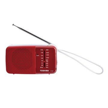 TX-PR20TW(紅) 攜帶型收音機