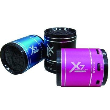 黑/X7音浪手榴彈隨身喇叭