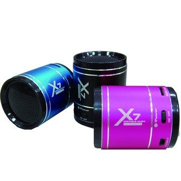 藍/X7音浪手榴彈隨身喇叭
