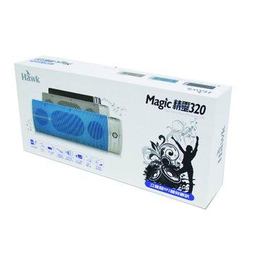 灰/P320魔幻精靈立體聲MP3隨身喇叭(福利品出清)