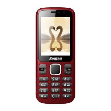 BentenW158直立式3G無照相手機展示機-紅(福利品出清)
