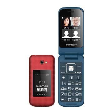 INHON G106+雙卡老人機-紅