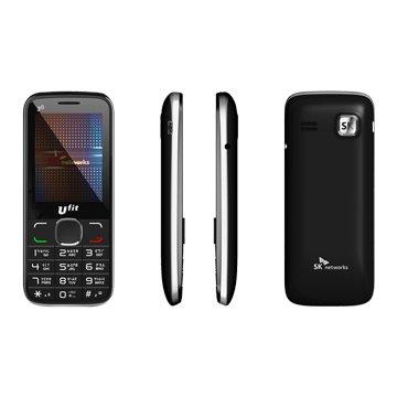 SK W206雙卡3G 無照相機-黑(福利品出清)