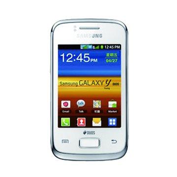 三星 Galaxy Y DUOS GT(S6102)-白(福利品出清)