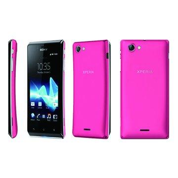 Sony Xperia J (ST26i)-粉(福利品出清)