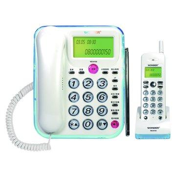 WD-6103來電顯示子母機無線電話(福利品出清)