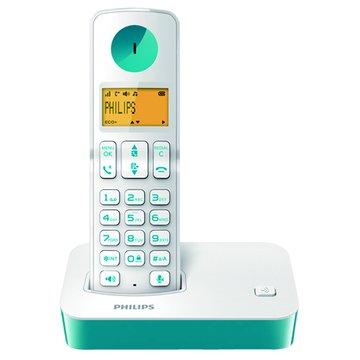 D2001WT(靛)免持聽筒無線電話(福利品出清)