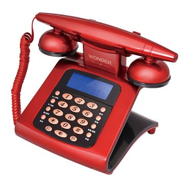 WONDER 旺德電通 WT-05 仿古來電顯示電話機