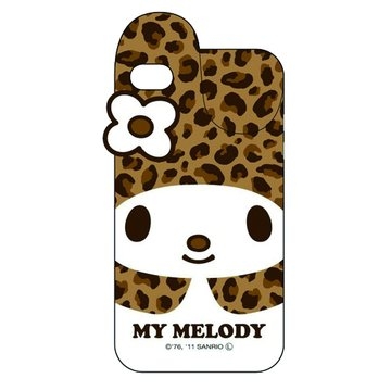 GDiPhone4/4SMelody立體兔耳保護套(咖啡