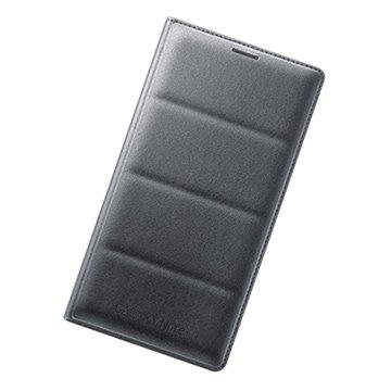三星Note 4原廠翻頁式皮套-黑