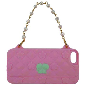 GD iPhone 5 KikiLala 晚宴包保護套(粉紅底