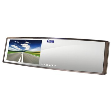 FLYoneRM03廣角曲面鏡後視鏡型行車記錄器(福利品出清)