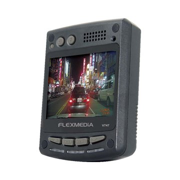 FLEXMEDiA V747W 120度廣角 行車記錄器(福利品出清)