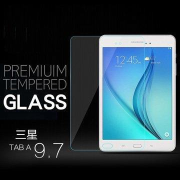 """保護貼:三星TAB A9.7""""WIFI弧度玻璃鋼化膜"""