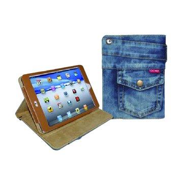 ocho  iPad Mini 牛仔包/淺藍