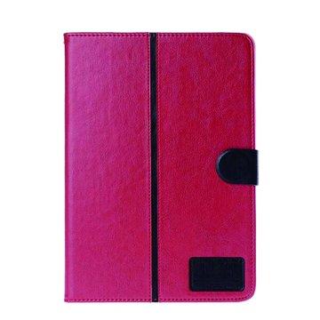 皮套:三星P6000/6050/T520雙色水晶紋/紅