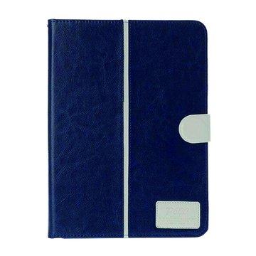 皮套:三星P6000/6050/T520雙色水晶紋/深藍