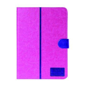 皮套:三星P6000/6050/T520雙色水晶紋/玫瑰