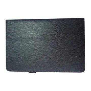 皮套:三星Tab4 7.0 T230/T235荔枝紋支架/黑