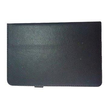 皮套:ASUS ME581荔枝紋支架/黑