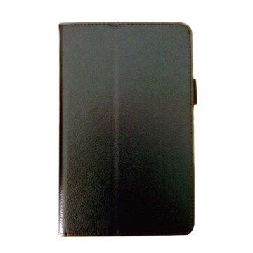 皮套:Acer B1-850 荔枝紋支架皮套/黑