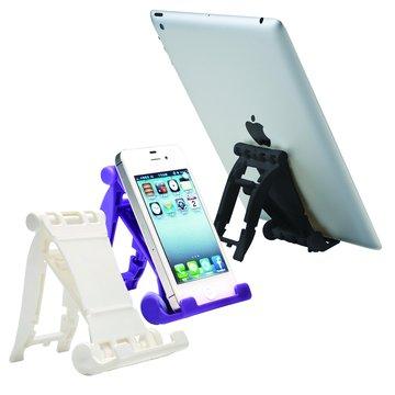 E-books N4 三段摺疊手機平板支架-紫