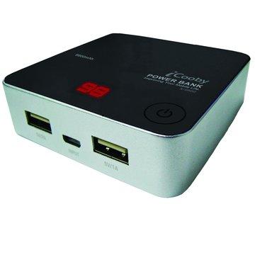 X-6600B 雙輸出/LED顯示/Power bank/2A