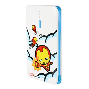 Marvel Kawaii 行動電源4640mAh-Iron Man