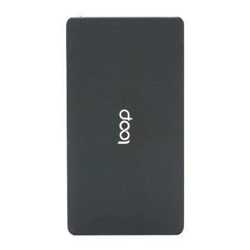 Loop鋁合金10000mAh超薄行動電源-黑