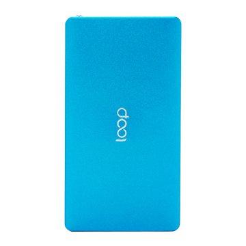 Loop鋁合金10000mAh超薄行動電源-藍