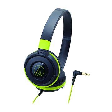 audio-technica 鐵三角 鐵三角 S100 BGR(黑綠)攜帶頭戴式耳機