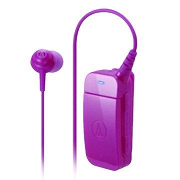 鐵三角藍芽耳機BT09 PK粉紅