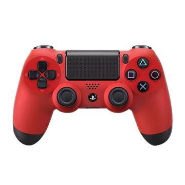 PS4 DUALSHOCK4 無線控制器-熔岩紅